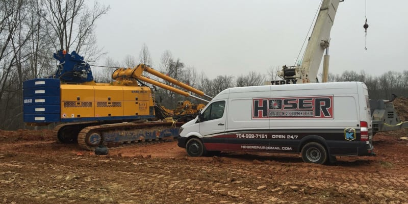 Mobile Hose Replacement in Charlotte, North Carolina